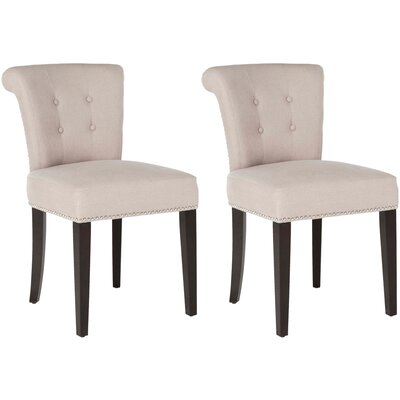 Florentine Side Chair Upholstery: Taupe