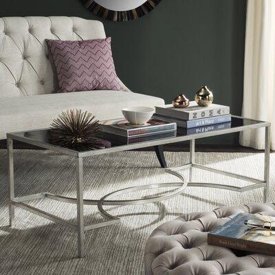 Audington Coffee Table Color: Silver