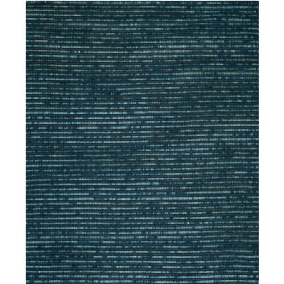 Makhi Hand-Knotted Dark Blue Area Rug Rug Size: Rectangle 4 x 6