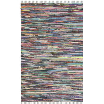 Wilcox Fairview Hand-Woven Gray Area Rug Rug Size: Runner 23 x 14