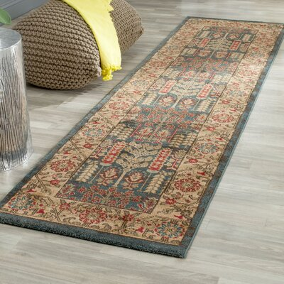 Coleraine Brown Area Rug Rug Size: Runner 22 x 8