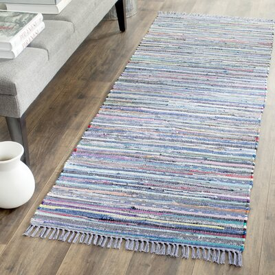 Eastport Rag Hand-Woven Contemporary Area Rug Rug Size: Runner 23 x 8