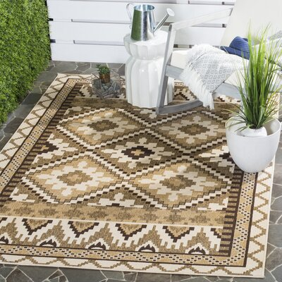 Rangely Outdoor Rug Rug Size: Rectangle 67 x 96