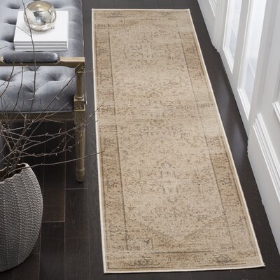 Emily Beige Area Rug Rug Size: Rectangle 810 x 122