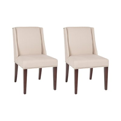 Humphry Side Chair Upholstery: Taupe