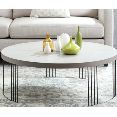 Ambrosios Coffee Table Color: Grey