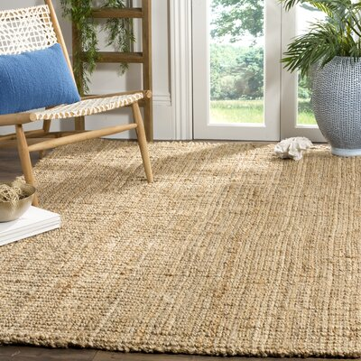 Richmond Hand-Woven Brown Area Rug Rug Size: Rectangle 5 x 8