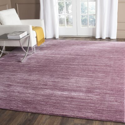 Harloe Purple Area Rug Rug Size: Rectangle 3 x 5