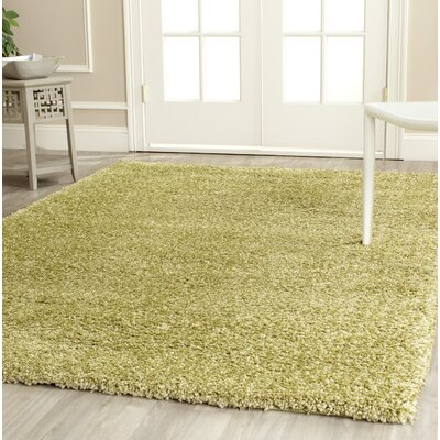 Starr Hill Green Area Rug Rug Size: Rectangle 53 x 76