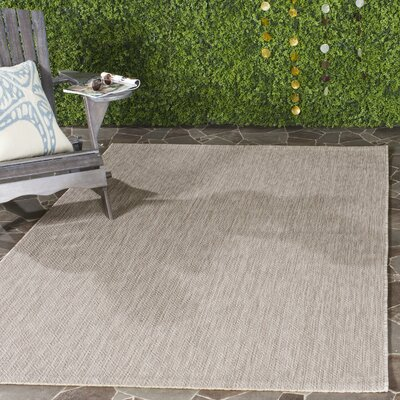 Adelia Beige Indoor/Outdoor Area Rug Rug Size: Rectangle 4 x 57
