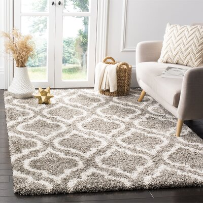 Melvin Gray/Beige Area Rug Rug Size: Rectangle 3 x 5