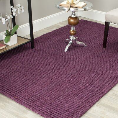 Shapiro Purple Area Rug Rug Size: Rectangle 3 x 5