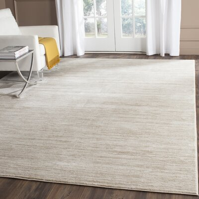 Harloe Ivory/Cream Area Rug Rug Size: Rectangle 3 x 5