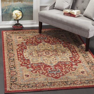Pacheco Natural Area Rug Rug Size: Rectangle 51 x 77