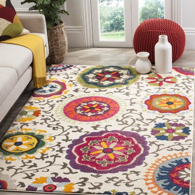 Elston Area Rug Rug Size: Rectangle 51 x 77