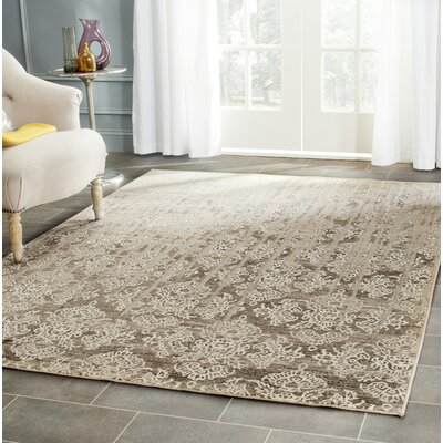 Valmer Mouse Oriental Gray Area Rug Rug Size: Rectangle 4 x 57