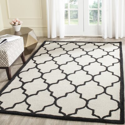 Charlenne Hand-Tufted Area Rug Rug Size: Rectangle 5 x 8
