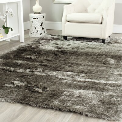 Montpelier Silver Area Rug Rug Size: Rectangle 4 x 6