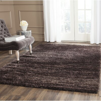 Rivers Edge Black Area Rug Rug Size: Rectangle 53 x 76