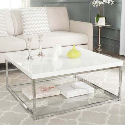 Pat Coffee Table Top Color: White