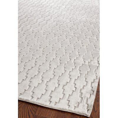 Birksgate Gray Area Rug Rug Size: Rectangle 5 x 76