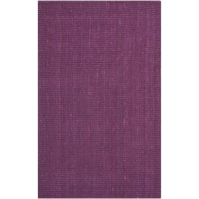 Shapiro Purple Area Rug Rug Size: Rectangle 4 x 6