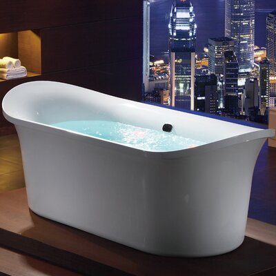 Free Standing Air Bubble 74.75 x 33.5 Bathtub
