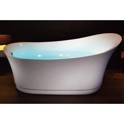 Free Standing Air Bubble 68.88 x 32.5 Bathtub