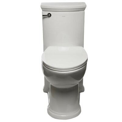 Compliant Single Flush 1.28 GPF Elongated One-Piece Toilet