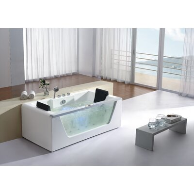 71 x 35 Whirlpool Bathtub