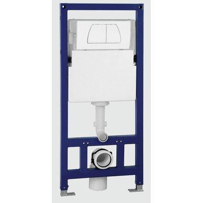 Square Modern Dual Flush Toilet Tank