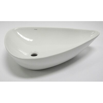 Tear Drop Specialty Vessel Bathroom Sink