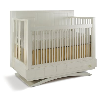Milano Convertible Crib Finish: Snowdrift 5511-74