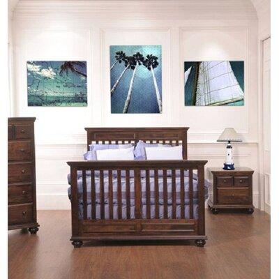 Umbria Convertible Crib Finish: Cherry 3311-19