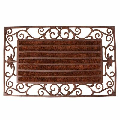 Best for Boots Scroll Work Doormat