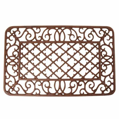 Best for Boots Diamond and Scroll Doormat