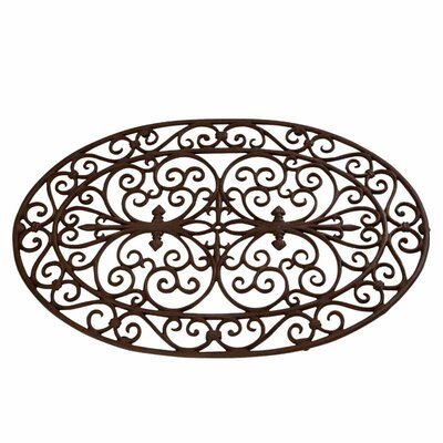 Best for Boots Oval and Scroll Doormat