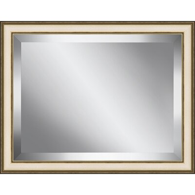 Champagne Frame Beveled Plate Glass Mirror BPMSP25-2024