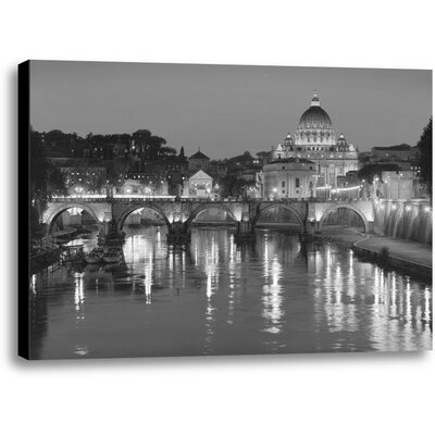 The Glory of San Pietro by Rod Chase Photographic Print on Wrapped Canvas Size: 10