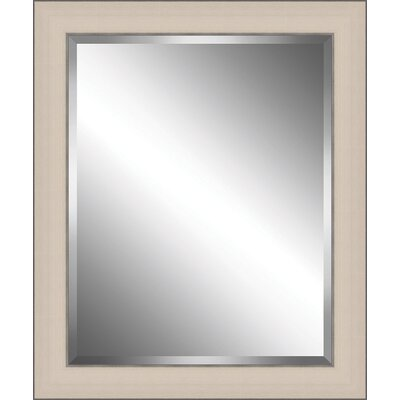 Wood Framed Beveled Plate Glass Mirror BPMWM8701-1620