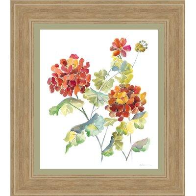 In Bloom 'Cranesbills I' Framed Painting Print 4345
