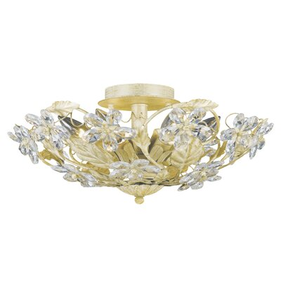 Abbie 6-Light Semi Flush Mount