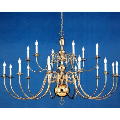Essex House 24 Light Candle Chandelier