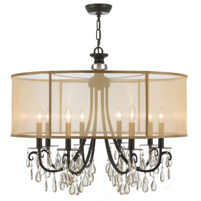 Aayush Traditional 8-Light Drum Chandelier