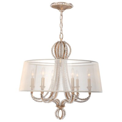 Beaufort 6-Light Shaded Chandelier