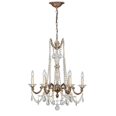 Delancey 6-Light Crystal Chandelier