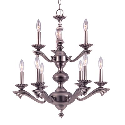 Cortland 9-Light Candle-Style Chandelier