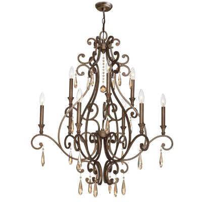 Shelby 9-Light Candle-Style Chandelier