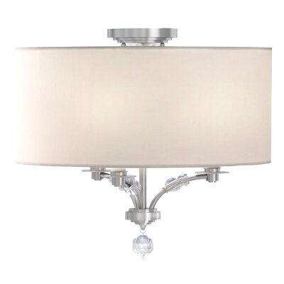 Mirage 3-Light Semi Flush Mount