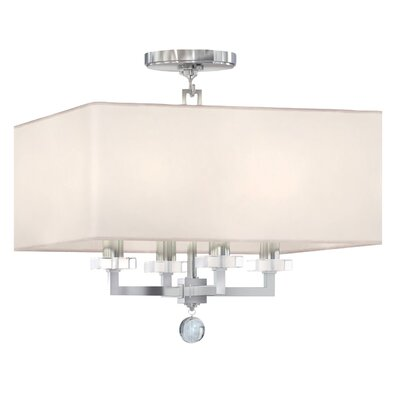 Paxton 4-Light Semi Flush Mount